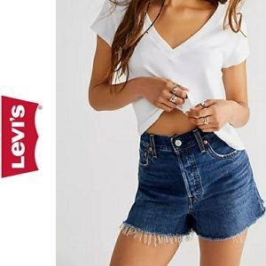 Levi's 512 Vintage Cut Off Jean Shorts Size 29